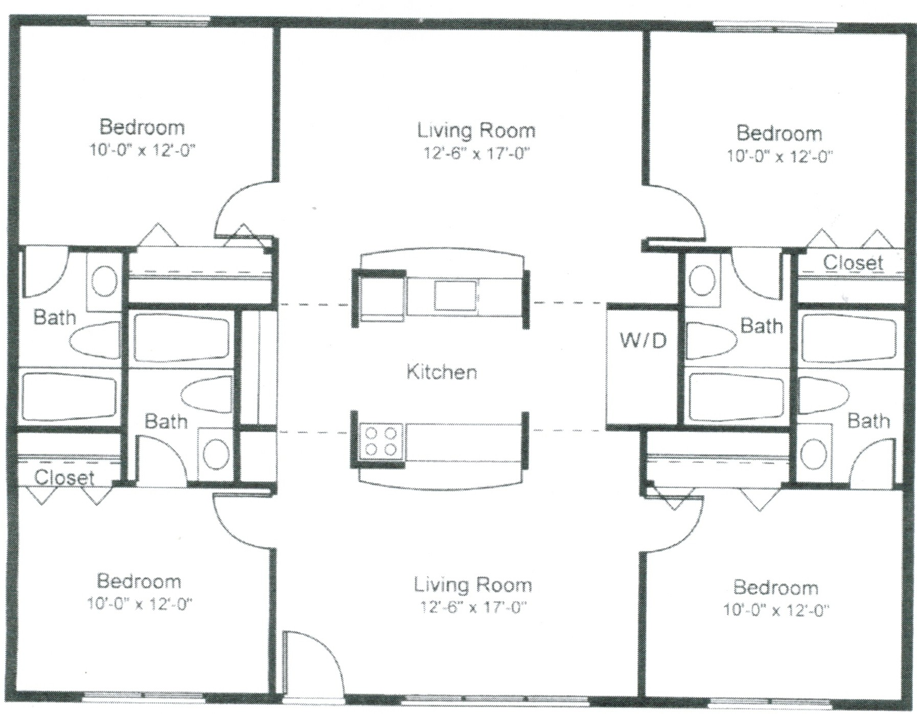 Floorplans pricing the metropolitan for Room design 3x3